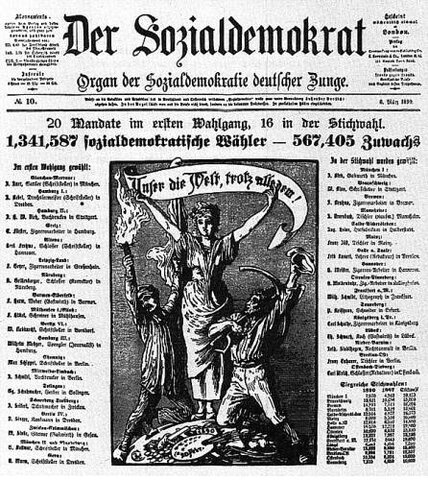 Fundación del partido socialdemócrata alemán