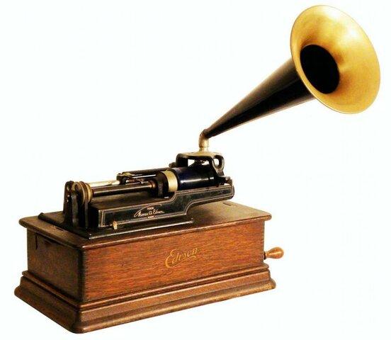 Invención del fonografo