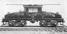 Primera locomotora eléctrica