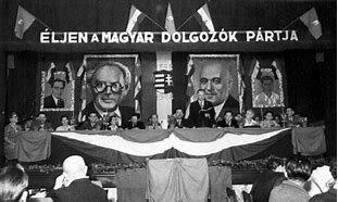 Az MKP és MSZDP egyesülése Magyar Dolgozók Pártja néven