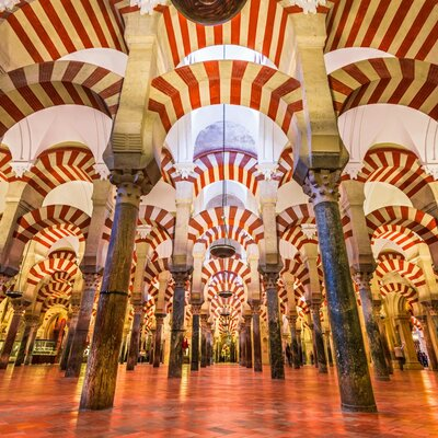 Mosque of Cordoba timeline