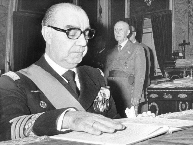 CARRERO BLANCO ES NOMBRADO PRESIDENTE DEL GOBIERNO