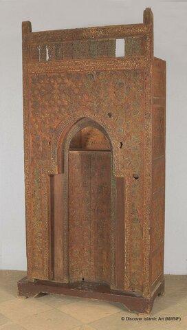 Mihrab (Museo de Arte Islámico del Cairo).