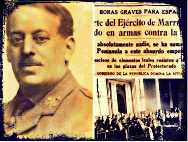 """""""Sanjurjada"""": sublevación militar en Sevilla"""