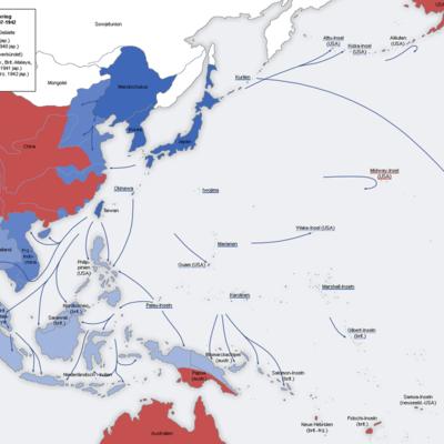 Expansión japonesa (1931-1941) timeline
