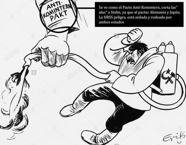 Japón firma el Pacto Anti-Comintern con Alemania.