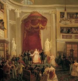Jura de la Constitución de 1845