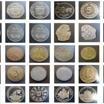 Historia de la moneda ecuatoriana timeline