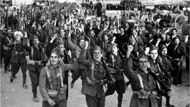 Sublevación en contra del Frente Popular y la República