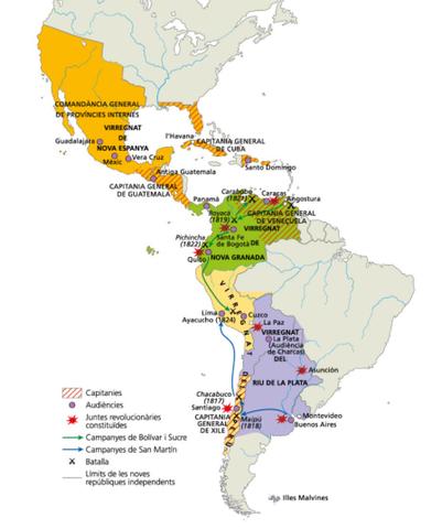 Independència de les colònies