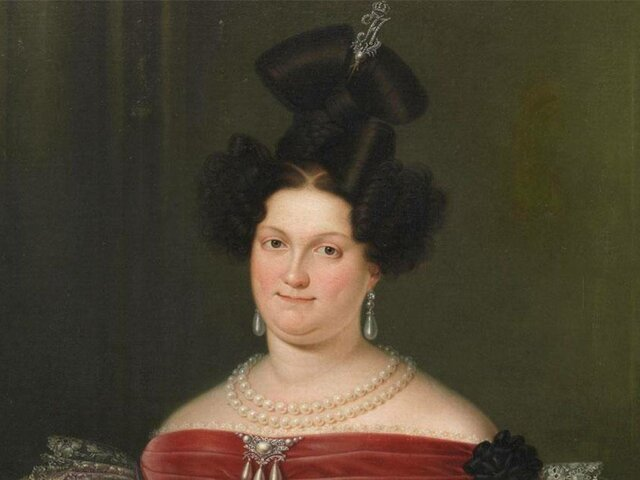 La Abdicación de la Regente María Cristina