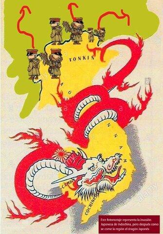Invasión Japonesa de la Indochina Francesa