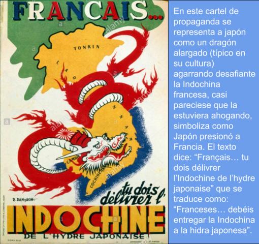 Invasión de la indochina francesa