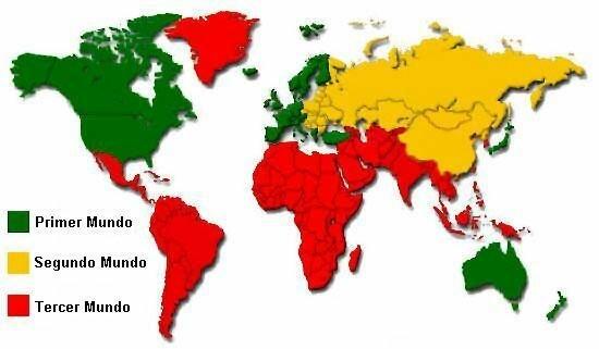 Países del Primer Mundo.