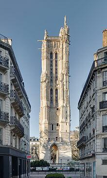 Tour Saint-Jacques(dix-huit Janvier 1525)