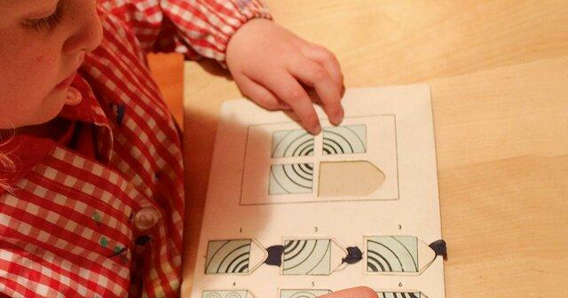 Primera prueba de clasificacion para niños