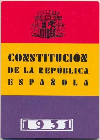 Constitución de 1931.