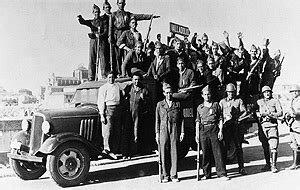 Sublevación militar (golpe de Estado). Alzamiento militar del 18 de julio.