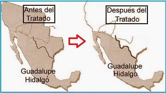 Se firmó el tratado de Guadalupe Hidalgo