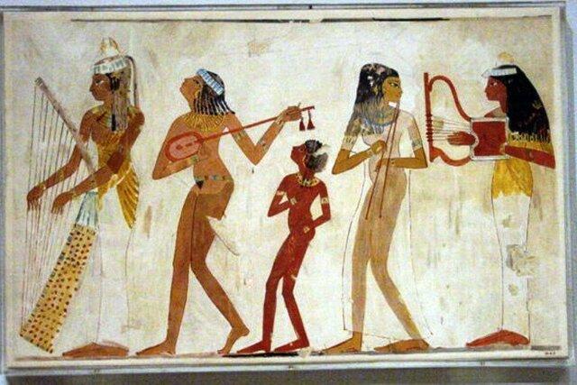 Danças no Egito