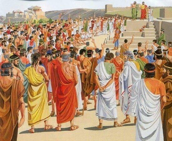Origen de la Democracia en Grecia