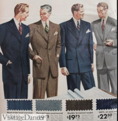 1940's Men's Suits