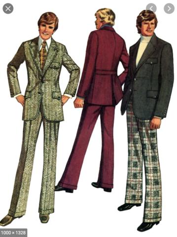 1970s Men's Suit Trend