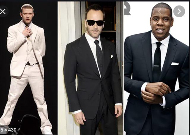 2000's Men's Suit Trend