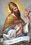 San Agustin se ordena sacerdote