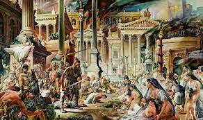Roma es saqueada