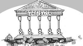 HISTORIA DE LA DEMOCRACIA 11°2 timeline