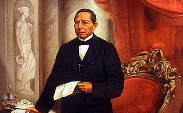 Toma del Poder de Benito Juárez