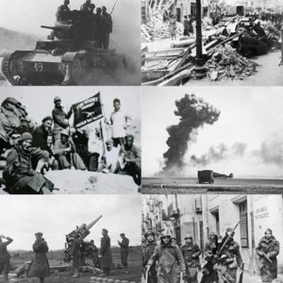 La Guerra Civil Espanyola timeline