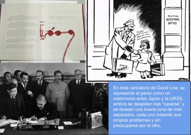 Pacto de no agresión con la URSS