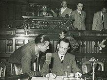 Nominato presidente del Consiglio dei Ministri