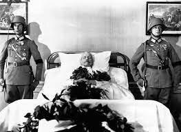 Muerte de Hindenburg