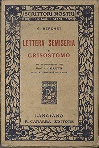 Manifesto del Romanticismo italiano di Giovanni Berchet