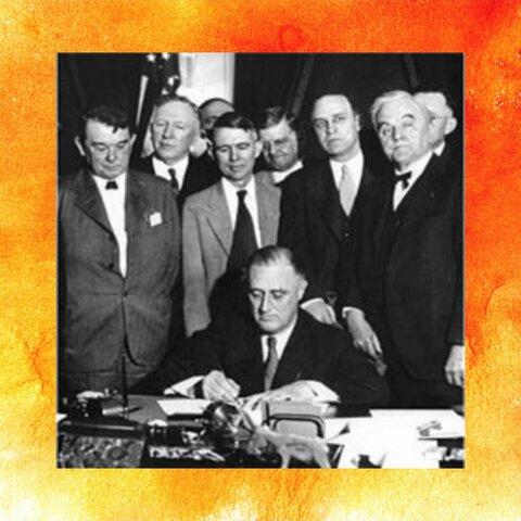 Generalización del proteccionismo / New Deal en EEUU / Autarquía económica y rearme en la Alemania nazi