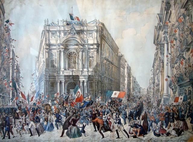 Garibaldi conquista il Regno Delle Due Sicilie
