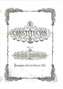 Aprobación de la Constitución de 1869