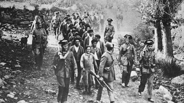 Revolución de octubre de Cataluña y Asturias.