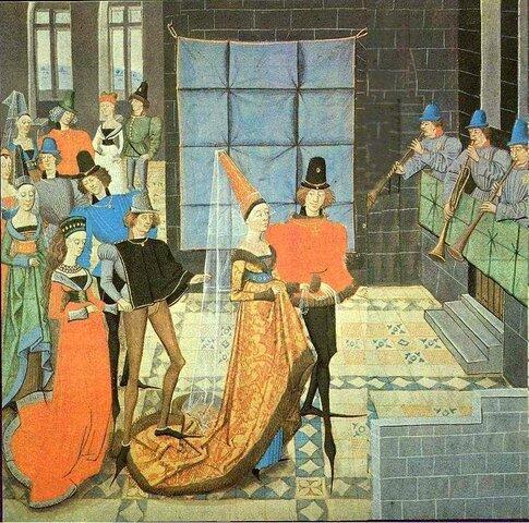 Danças nos séculos XIII e XIV