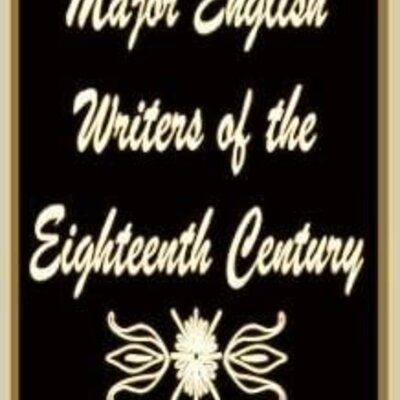 English writers of the 18th century timeline