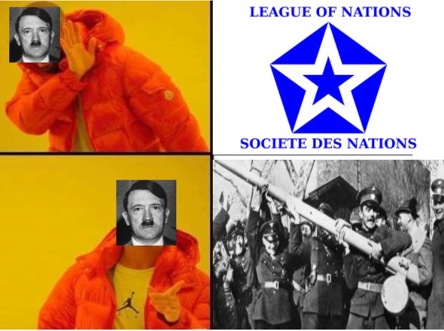 Hitler abandona la SDN