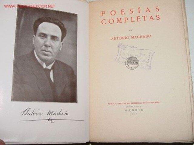 primera edición de Poesías completas