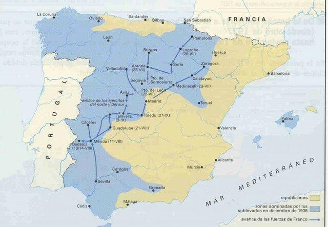 II etapa: Intervención extranjera y dominio nacionalista del norte
