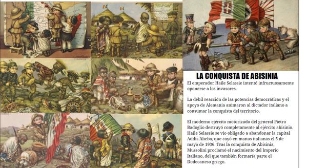 La conquista de Abisinia