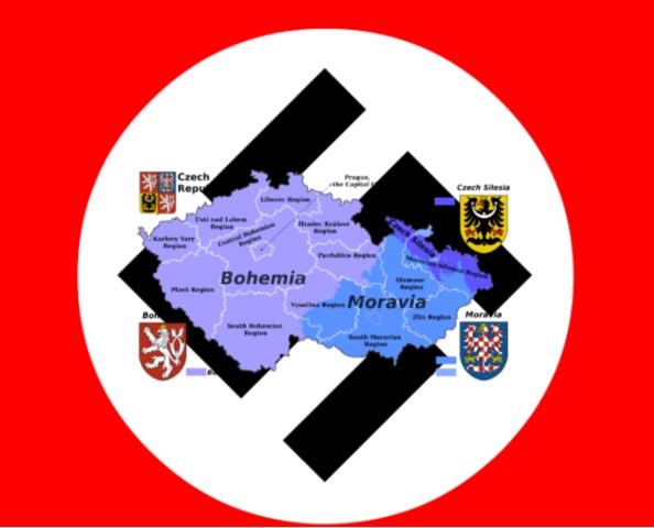 La invasión de Bohemia Moravia