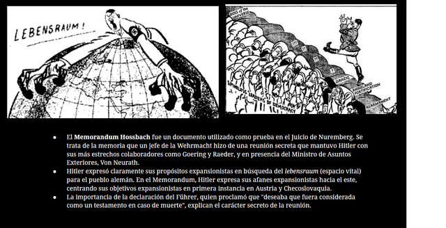 El memorando de Hossbach