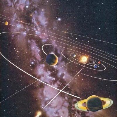 Образование Солнечной системы  timeline
